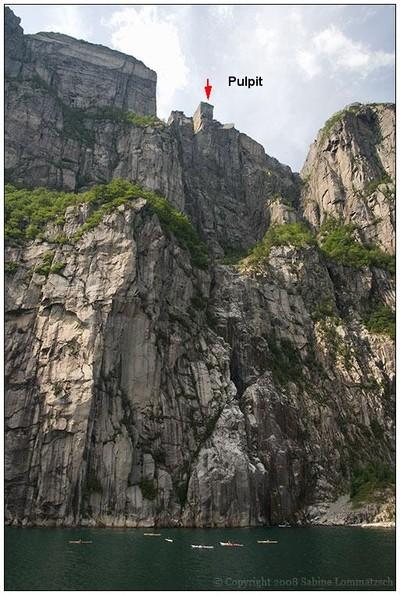 Preikestolen (Púlpito Roca) Lugares-insolitos