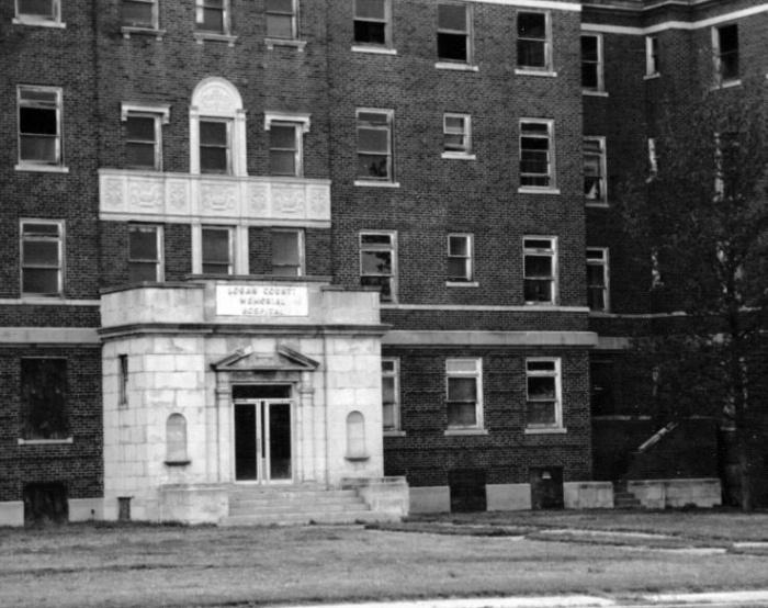 Hospital abandonado en Oklahoma