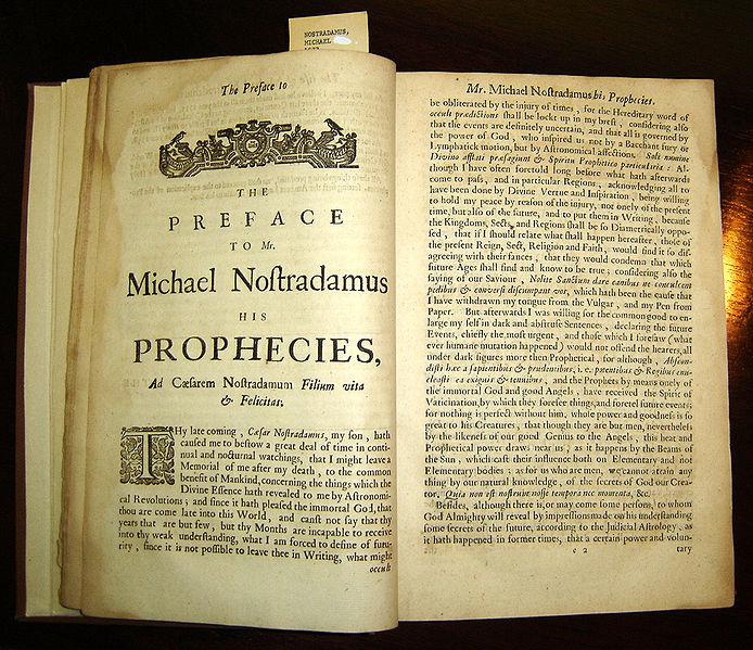 ¿Nostradamus sí o Nostradamus no? – 1ª Parte.