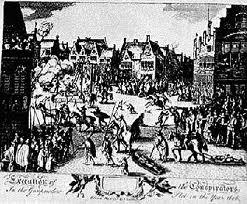 Pena de Muerte en el siglo XVIII