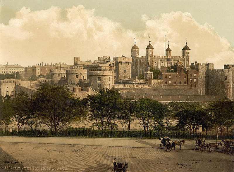 """La torre de Londres y sus fantasmas """"reales"""". Grabados_antiguos"""