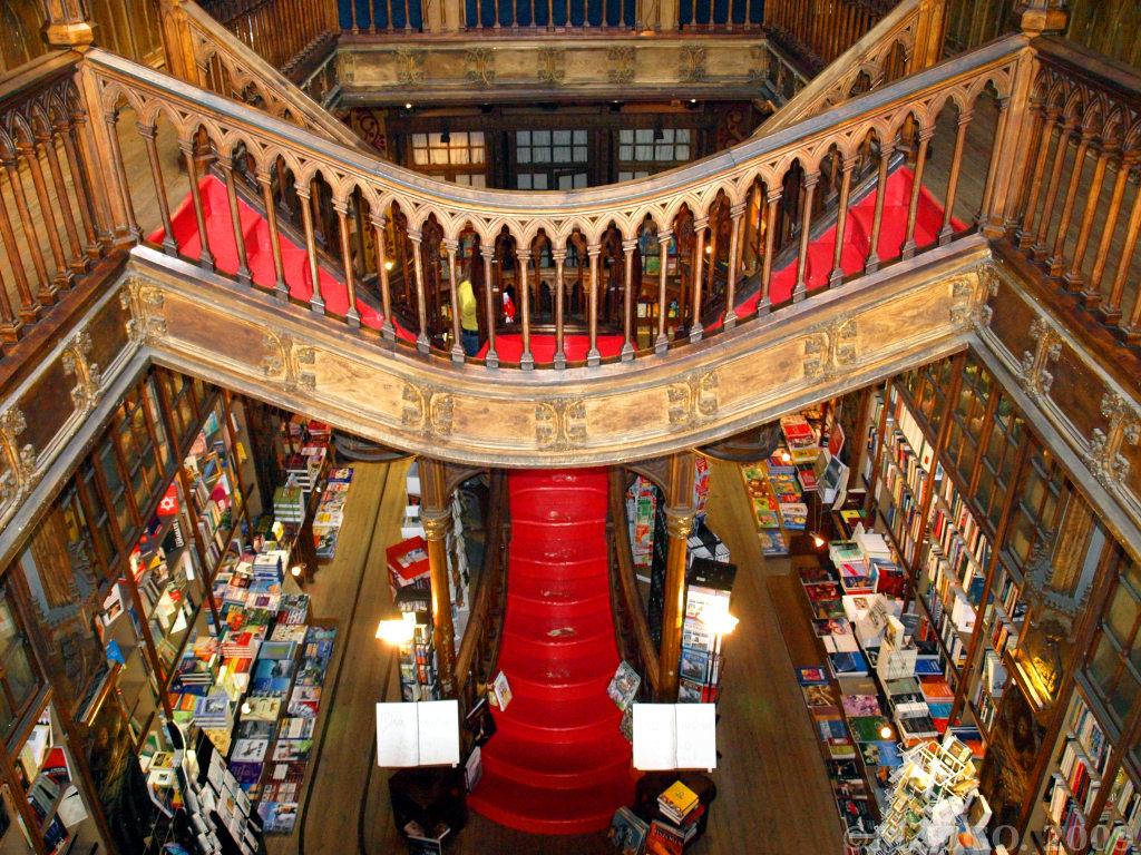 Librería Lello e Irmão, el paraíso de los libros.