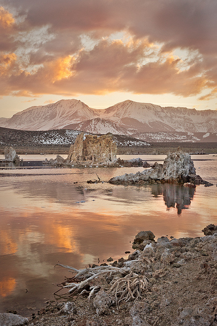 Lugares increíbles. El Lago Mono.
