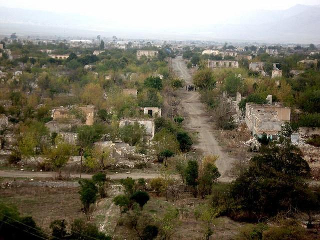 Agdam, las cicatrices de la guerra.