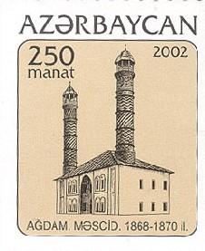Agdam, las cicatrices de la guerra. Agdam_mosque