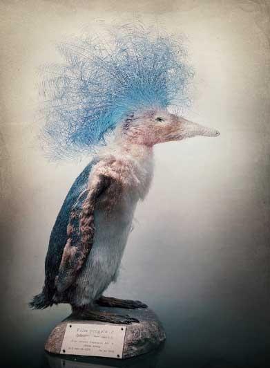 Las criaturas híbridas de Fredrik Ödman