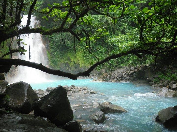 Planeta mágico. El río Celeste de Costa Rica.