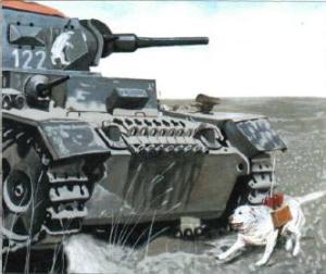 Los perros bomba de la Segunda Guerra Mundial