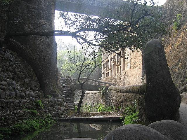 El jardín de piedra de Chandigarh, el rival del Taj-Mahal.