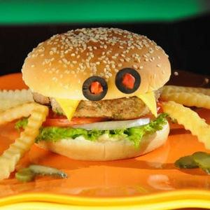 Hamburguesa hecha de excrementos humanos, ¿la comida del futuro?.