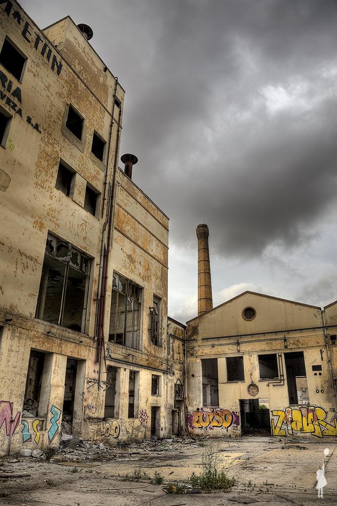 Fábrica de cerveza abandonada
