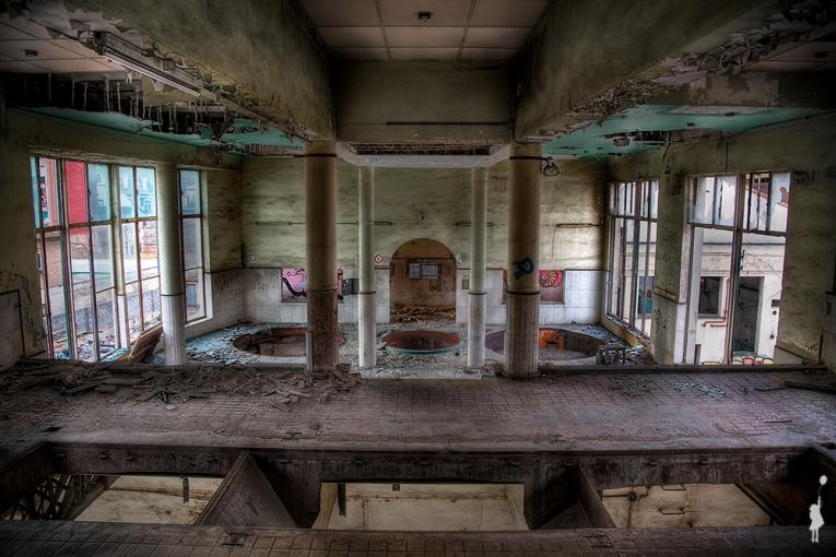 Fábrica de cerveza abandonada y misterios