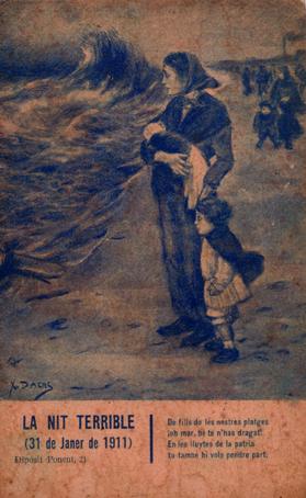 «La noche terrible», la tormenta perfecta de 1911
