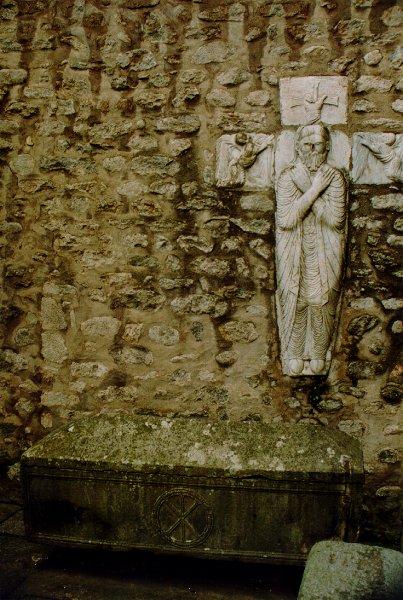 El sarcófago sagrado de Arlès-sur-Tech