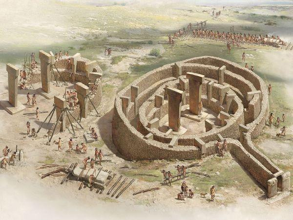 Los círculos megalíticos de Göbekli Tepe