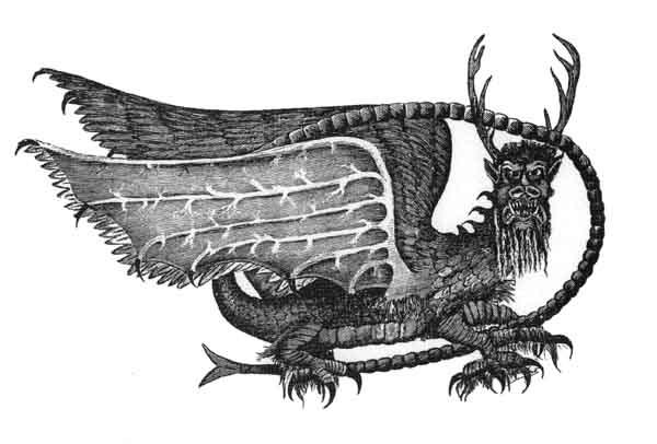 El Piasa, el dragón pájaro de Illinois
