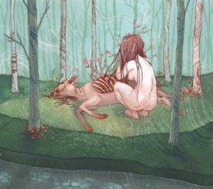Las perturbadoras ilustraciones de Chelsea Greene Lewyta