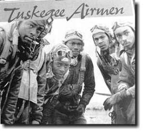 La armada de Tuskegee, los primeros pilotos de color.