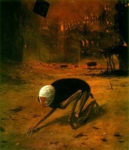 La pintura fantástica de Beksinski