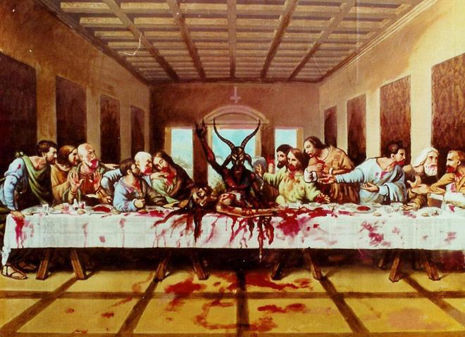 la cena de leonardo: