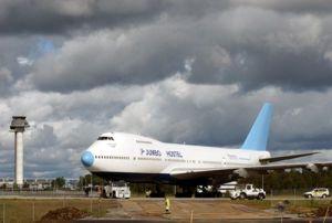 «Jumbo Hotel», un Boeing 747 convertido en Hotel.