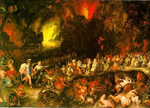 Mitología griega: Hades, el Dios de los muertos.  El-tartaro
