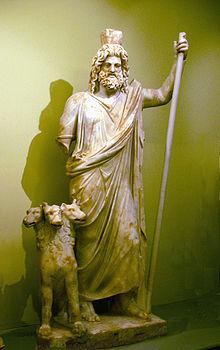 Mitología griega: Hades, el Dios de los muertos.  Hades-y-cerbero
