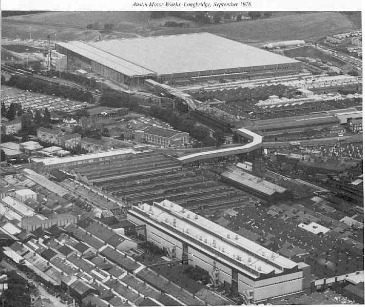 Abandonos XXL: Longbridge, la fábrica abandonada mayor del mundo.