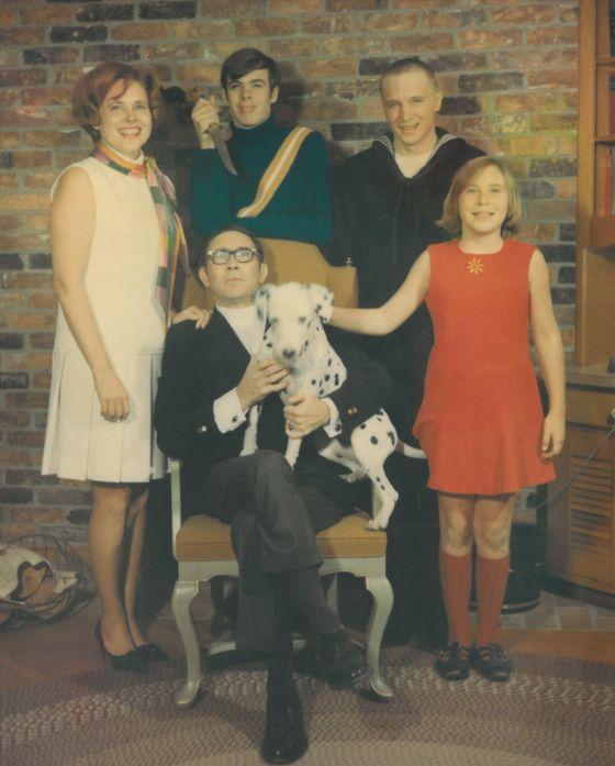 Terroríficos retratos de familia.