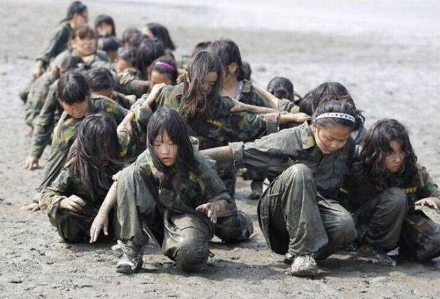 Campamentos infantiles… en Corea del sur.