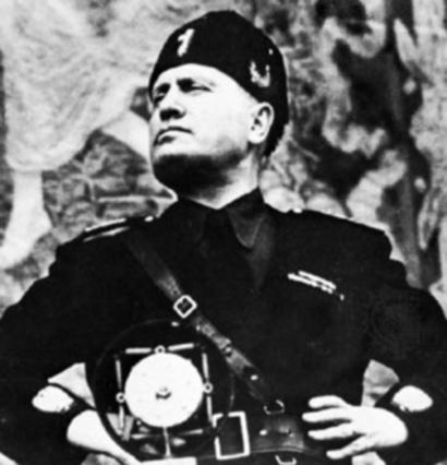 Personajes de la historia: Benito Mussolini, el Duce.