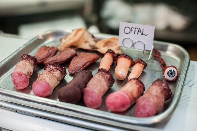 Comprar carne humana ya es posible en una carnicería de Londres.