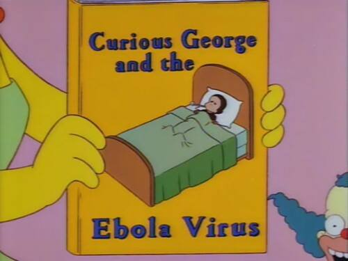 Simpsons virus del ebola