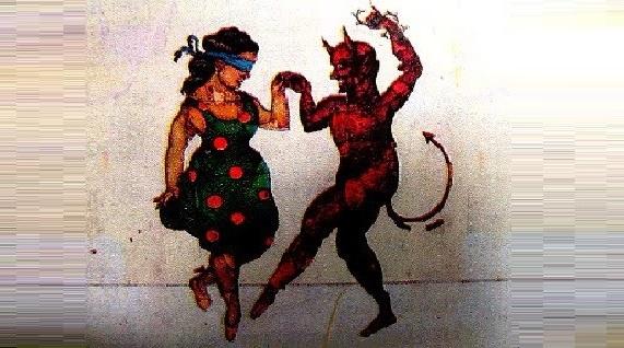 La mujer que bailo con el diablo - Mitos, leyendas