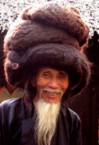 Hombre con pelo mas largo del mundo