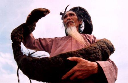 Tran Van Hay , el hombre con el cabello más largo del mundo